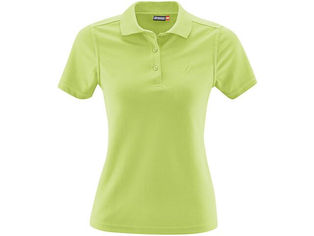 Maier Sports Ulrike Maglietta polo Donna, sap green